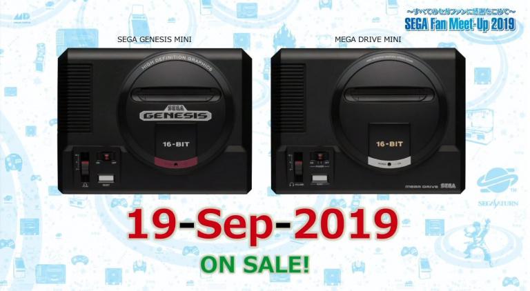 [MàJ] La Mega Drive Mini sortira le 19 septembre