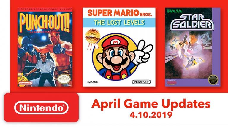 Nintendo Switch Online : les jeux NES d'avril dévoilés