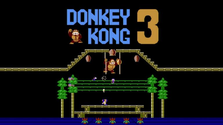 Arcade Archives : Donkey Kong 3 arrive cette semaine sur Switch