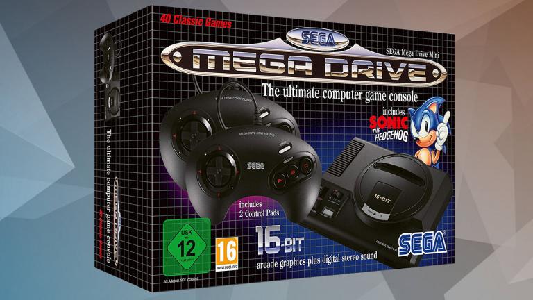 Sega Mega Drive Mini : Les précommandes sont ouvertes !