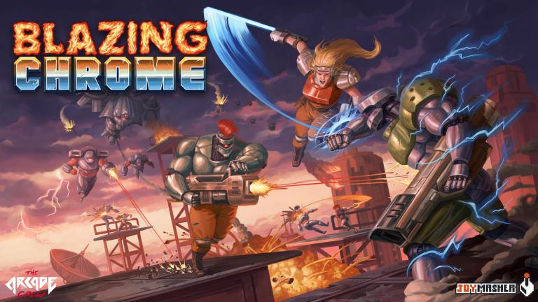 Blazing Chrome : un bel hommage aux run'n'gun des années '90