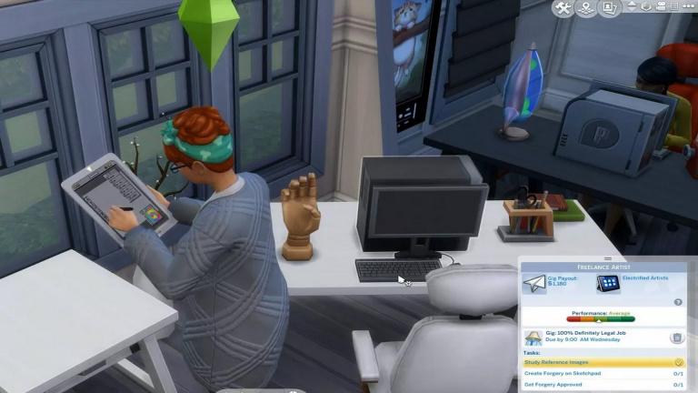 Les Sims 4 se la joue auto-entrepreneur dans sa prochaine mise à jour