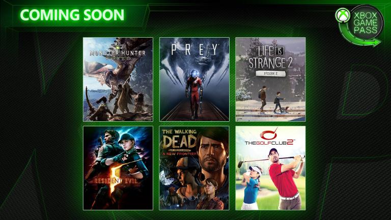 Xbox Game Pass : Monster Hunter World, Prey et quatre autres jeux annoncés