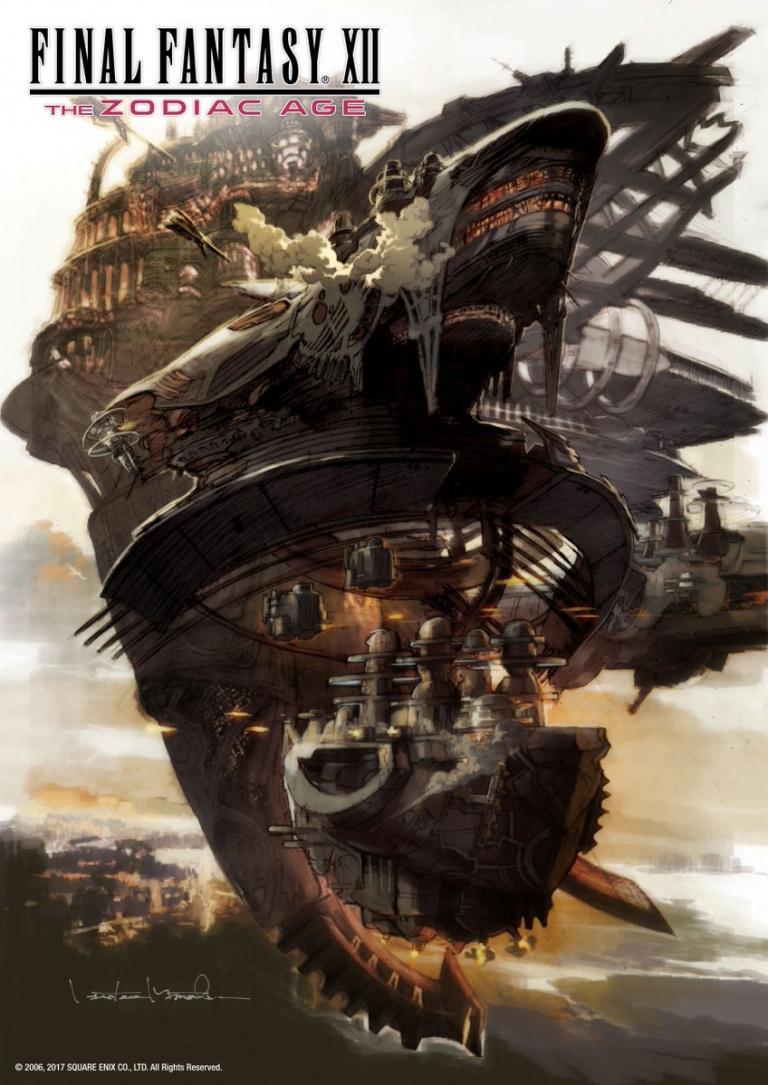 Final Fantasy XII : The Zodiac Age se munit d'une jaquette réversible pour son arrivée sur Switch et Xbox One