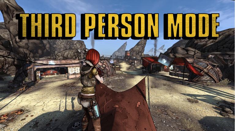 Borderlands GOTY : un mod pour passer en vue à la troisième personne