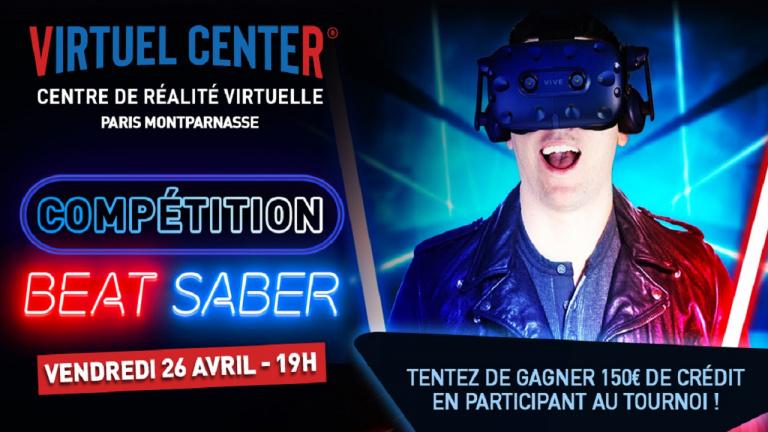 Beat Saber : Le Virtuel Center de Paris organise une compétition fin avril