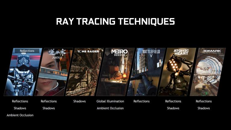 Nvidia : le pilote pour activer le ray tracing sur les GTX 10/16 est disponible