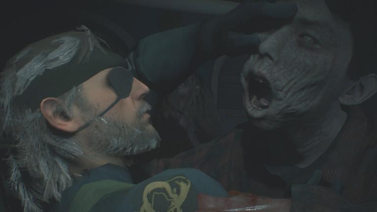 Resident Evil 2 : un mod pour incarner Big Boss et Quiet de Metal Gear Solid V