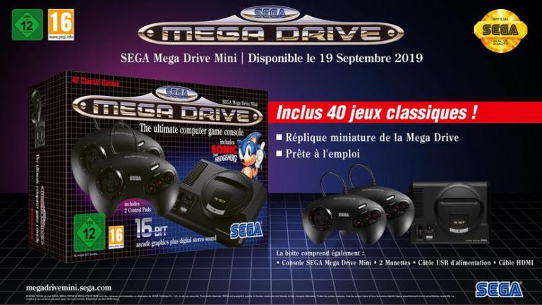 Mega Drive Mini : SEGA nomme dix jeux supplémentaires