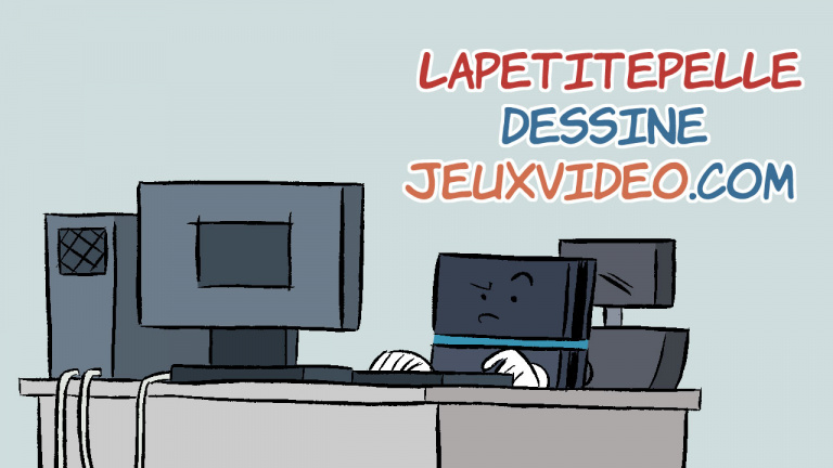 LaPetitePelle dessine Jeuxvideo.com - N°281
