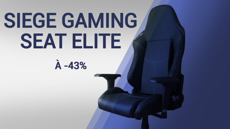 Wearefans : Le siège Gaming Seat Elite à -43% !