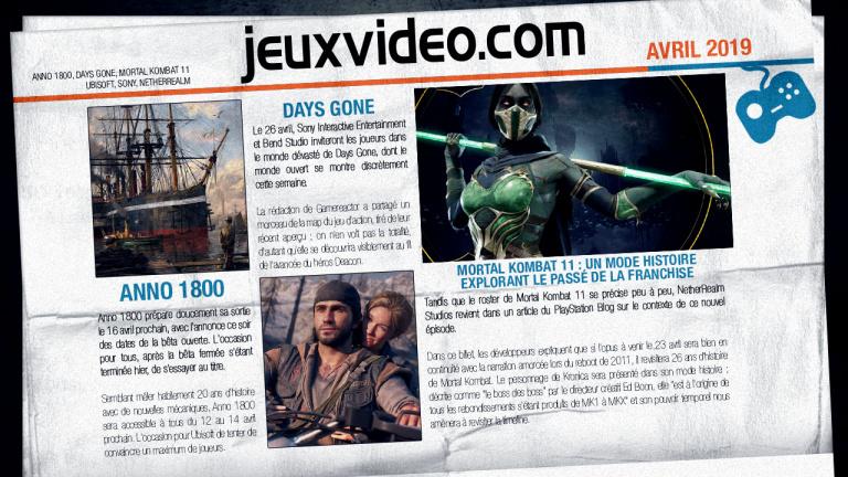 Les infos qu'il ne fallait pas manquer le 19 avril : Days Gone, Snack Game, GTA 6...