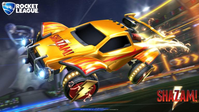 Rocket League : des objets Shazam à récupérer gratuitement