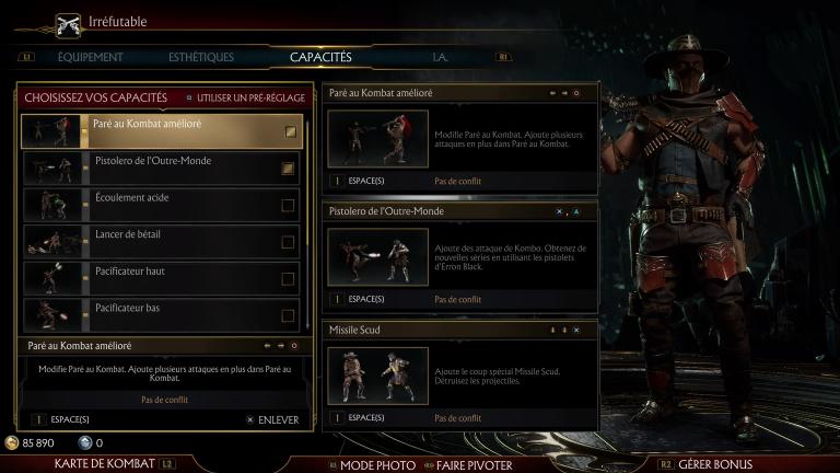 Erron Black - Astuces et guides Mortal Kombat 11 - jeuxvideo com