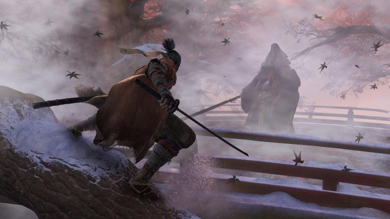 Un joueur termine Sekiro à l'aide de Bongos DK