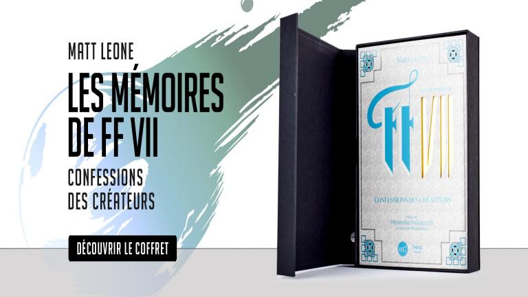 Third Editions raconte Les Mémoires de Final Fantasy VII dans un nouvel ouvrage