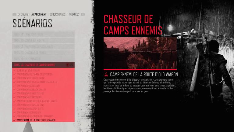Chasseur de camps ennemis