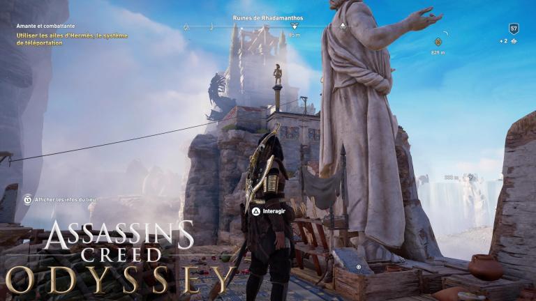 Assassin's Creed Odyssey, Le Sort de l'Atlantide : guide des Ostracon des Champs-Elysées