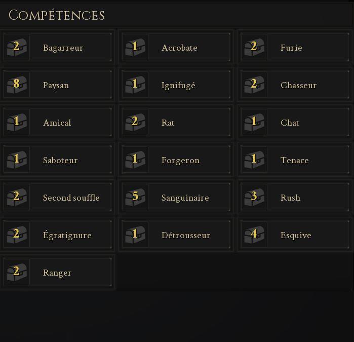 Mordhau : tier list des compétences