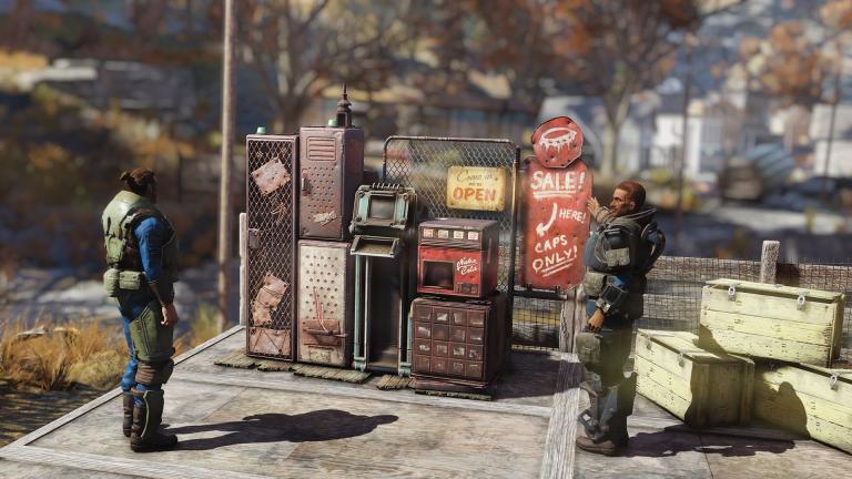 Fallout 76 : La vente entre joueurs se détaille