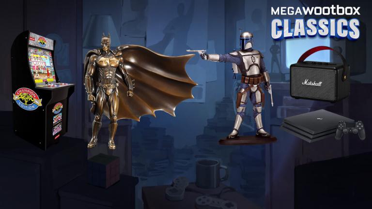 Du rétro et des surprises à gogo dans la Megawootbox Classics !