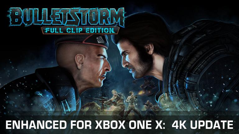 Bulletstorm : Full Clip Edition va recevoir un patch Xbox One X aujourd'hui