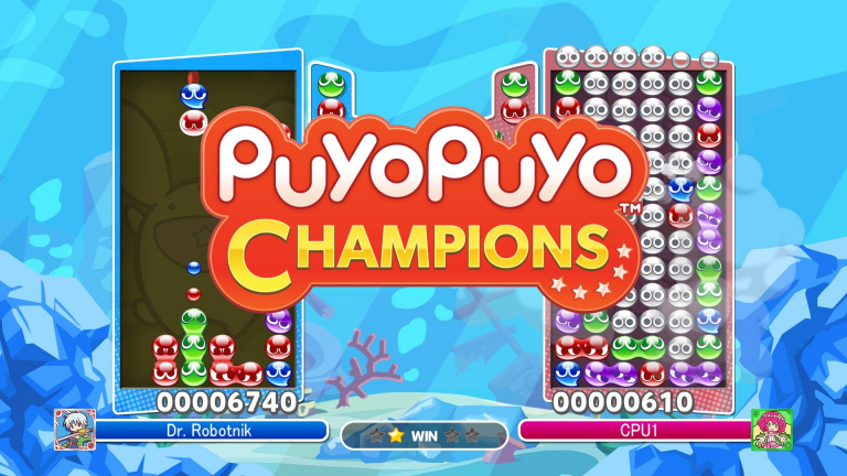 Puyo Puyo Champions : les trophées et succès de la version e-sport