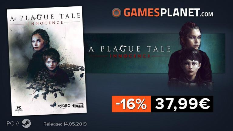 Gamesplanet : Une offre de précommande sur A Plague Tale: Innocence