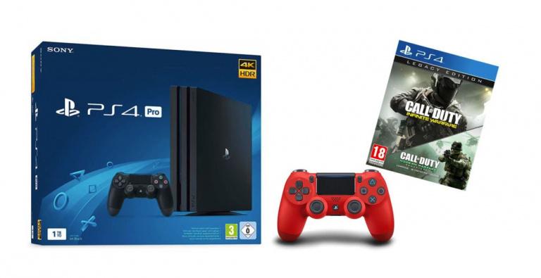 Référence Gaming : La PlayStation 4 Pro et Slim en promo !