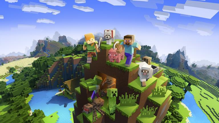 Minecraft : Une map musée pour fêter les 10 ans du jeu