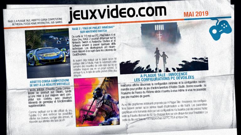 Les infos qu'il ne fallait pas manquer le 14 mai : Discord, Rockstar Games, The Division 2...