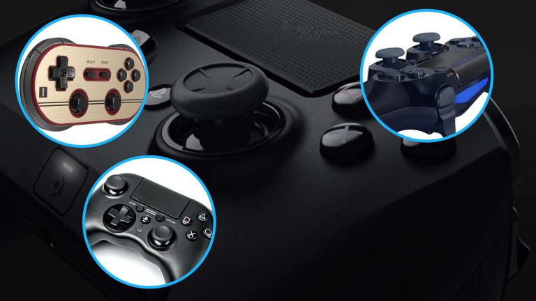 Comparatif : 34 manettes / gamepads à l'essai, pour consoles ou PC