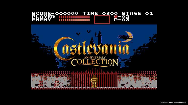 Castlevania Anniversary Collection : les trophées et succès de la compil 50ème anniversaire