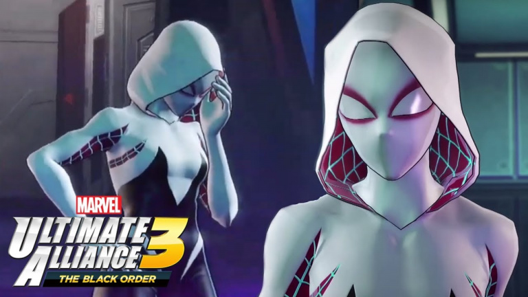 Marvel Ultimate Alliance 3 : Spider-Gwen tisse sa toile