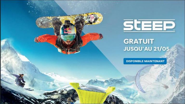 Steep : le jeu de glisse offert sur Uplay (PC) pour une durée limitée