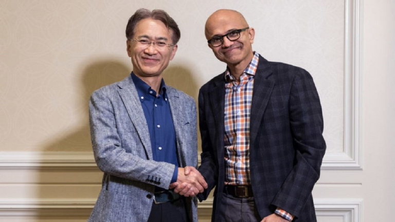 Sony et Microsoft s'associent pour le cloud et l'intelligence artificielle