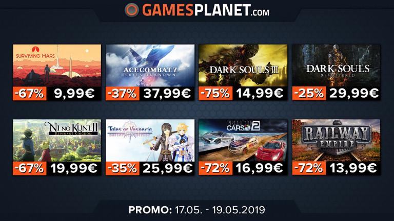 Gamesplanet : Un week-end de promotions sur de nombreux titres !