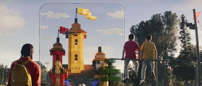 Minecraft Earth : un jeu Minecraft en réalité augmentée annoncé