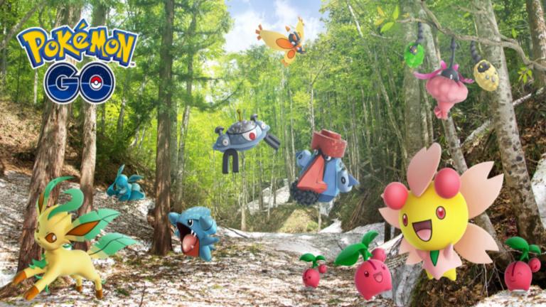 Pokémon GO : de nouveaux Pokémon de Sinnoh apparaissent dans la nature