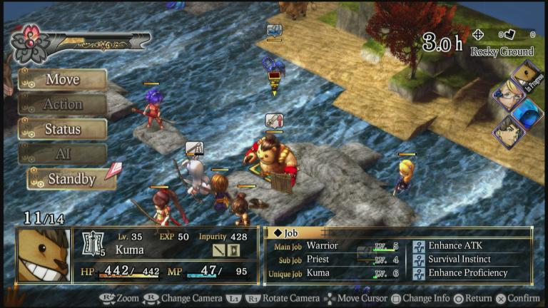 God Wars : le tactical-RPG racontera sa légende en juin sur PC
