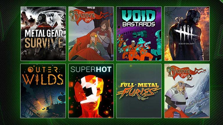 Metal Gear Survive et Dead by Daylight arrivent sur le Xbox Game Pass