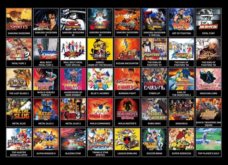 Neo Geo Mini : Trois versions limitées Samurai Shodown annoncées