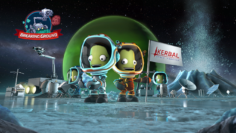 Un trailer de gameplay pour l'extension Kerbal Space Program : Breaking Ground