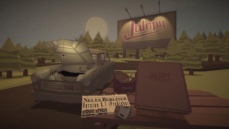 Jalopy gratuit pendant 24 heures sur le site Humble Bundle