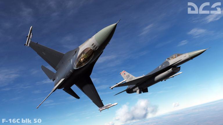 DCS World : Précommandes ouvertes pour le F-16C Viper