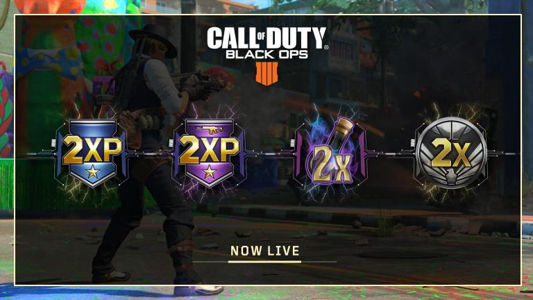 Call of Duty : Black Ops IIII lance un événement qui double vos XP