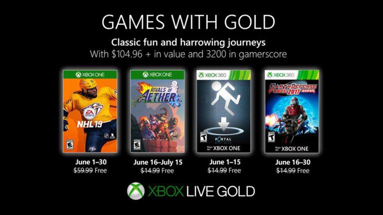 Xbox Games with Gold : les jeux offerts en juin 2019