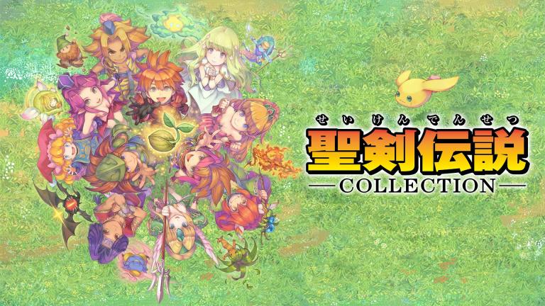 Square Enix dépose la marque Collection of Mana en Europe