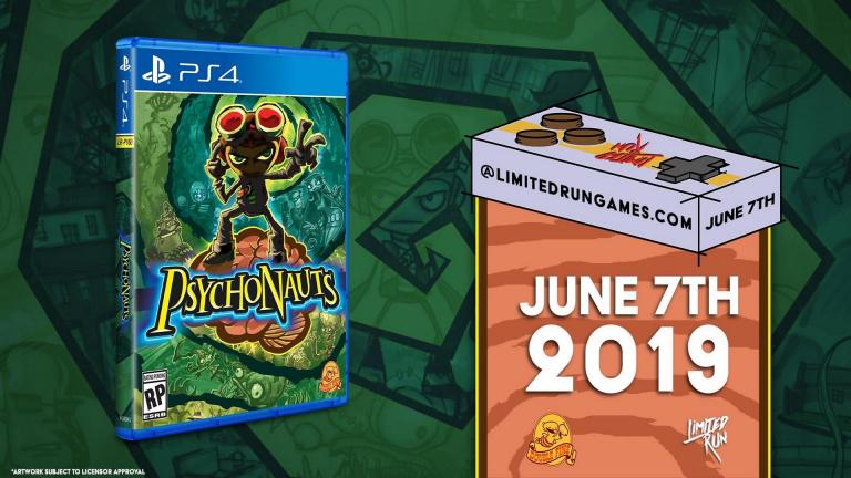 Psychonauts : une version physique PS4 et une collector chez Limited Run Games