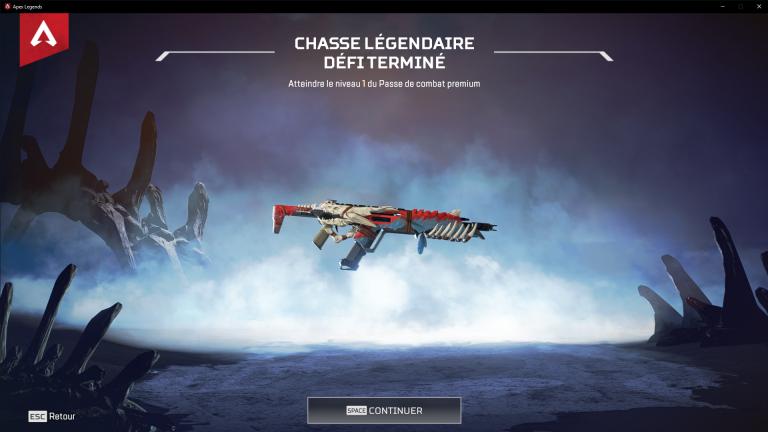 Apex Legends, défi Chasse légendaire : liste et guide complet